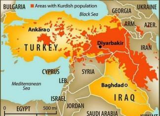 Τουρκία, Κουρδιστάν,