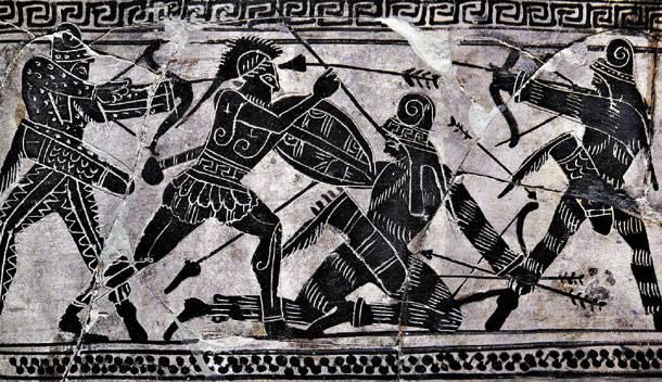 Μάχη Μαραθώνα, Φως, νίκησε, Σκότος,