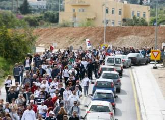 Σύνταγμα, πορεία, Πάτρα-Αθήνα, ανεργία,