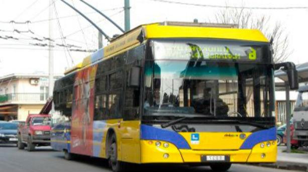 Πρωτομαγιά, τρόλεϊ, λεωφορεία,