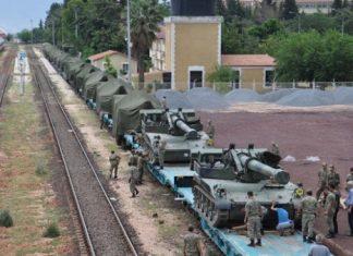 Τουρκία, στρατό, σύνορα, Συρία,