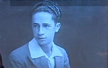 Μίμης Φωτόπουλος, νεαρός,