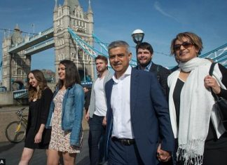 Λονδίνο, νέος δήμαρχος, μουσουλμάνος,