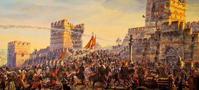 άλωση Κωνσταντινούπολης, 1453,