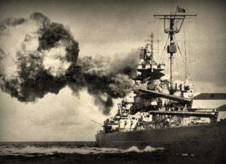 """πλοίο """"Μπίσμαρκ"""", βυθίζεται, βασιλικό βρετανικό ναυτικό,"""