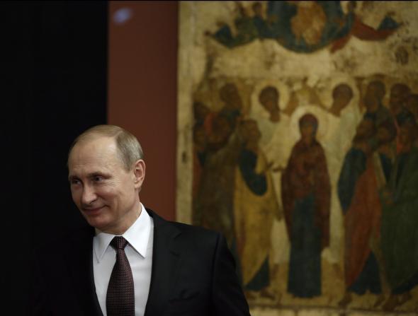 Β.Πούτιν, Ορθοδοξία, Κομμουνισμός,