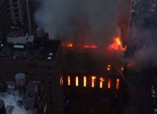 Νέα Υόρκη, φωτιά, ορθόδοξη εκκλησία,