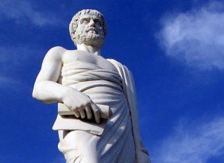 τάφος, Αριστοτέλης,