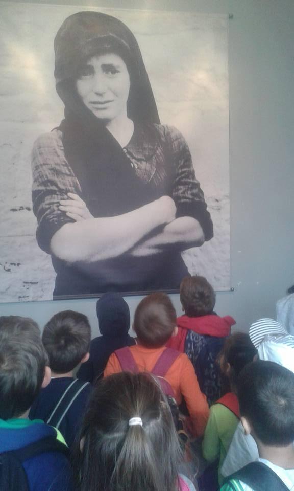 μαθητές, Αντίκυρα, μουσείο, Θυμάτων Ναζισμού,