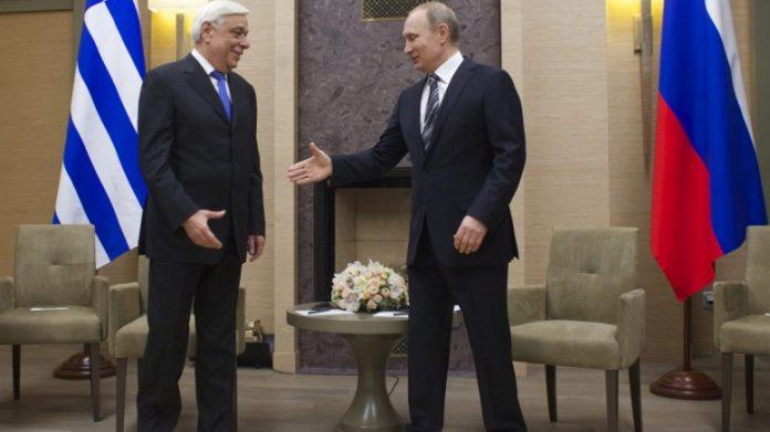 Παυλόπουλος, Πούτιν, Προεδρικό Μέγαρο,