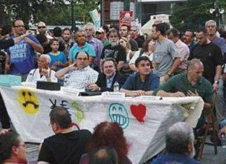 στελέχη, ΣΥΡΙΖΑ, πλατεία Συντάγματος,