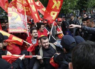 Τουρκία, πρωτομαγιά, συλλήψεις,