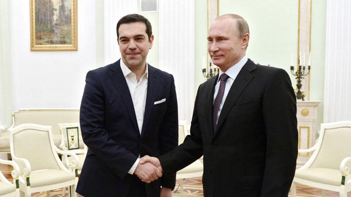 συνάντηση, Τσίπρας, Πούτιν,