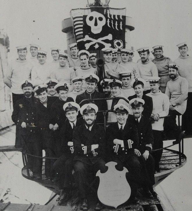 υποβρύχιο, Β' Παγκόσμιος Πόλεμος, 71 σοροί στρατιωτών,