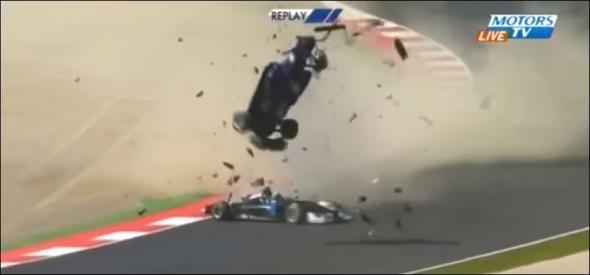 ατύχημα, Formula 3,