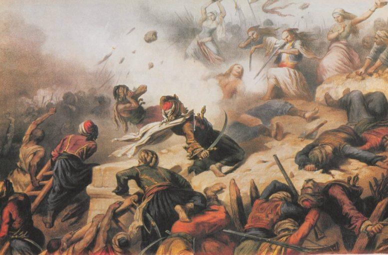 μάχη, Βαλτέτσι, 1821,