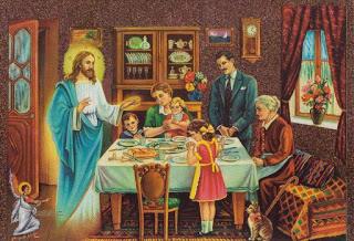 προσευχή, οικογένεια,