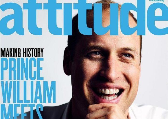 Ουίλιαμ, φωτογραφήθηκε, γκέι περιοδικό,