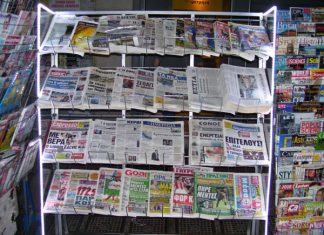 Τα πρωτοσέλιδα των εφημερίδων για τις 3-6-2020