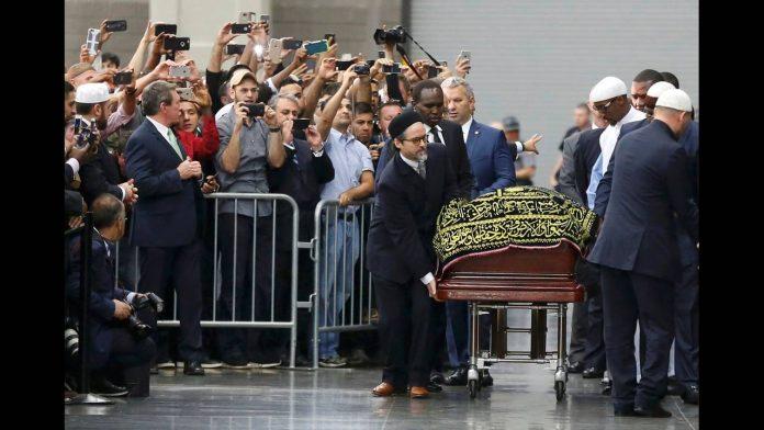 Ερντογάν, κηδεία, Μοχάμεντ Άλι,