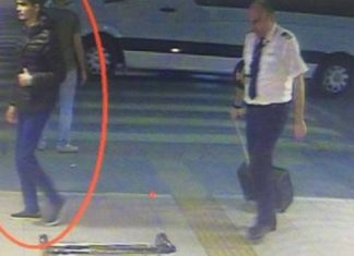 Κωνσταντινούπολη, αστυνομικός, τρομοκράτης,