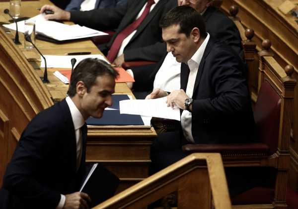 Βουλή, Κ.Μητσοτάκης, Αλ. Τσίπρας,