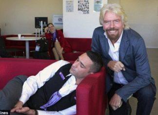 ιδιοκτήτης, Virgin, υπάλληλος, κοιμόταν,