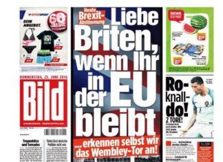 Bild, παραμονή, Βρετανών, ΕΕ,