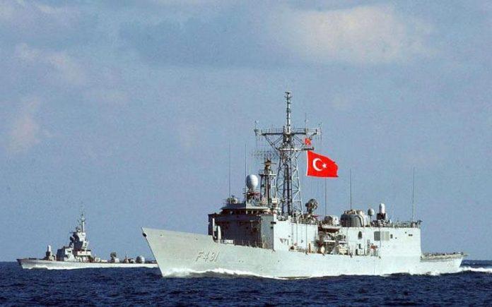 ΣΥΝΑΓΕΡΜΟΣ στη Μεσόγειο: «Επί ποδός» τα Τουρκικά πολεμικά πλοία