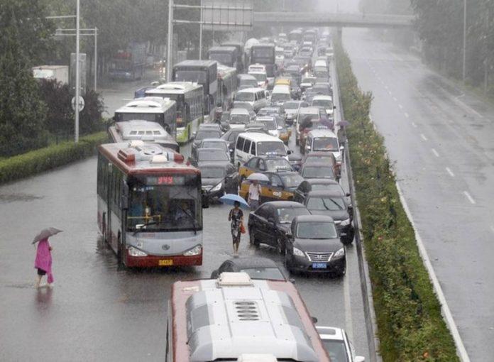 Κίνα, βροχές, νεκροί,