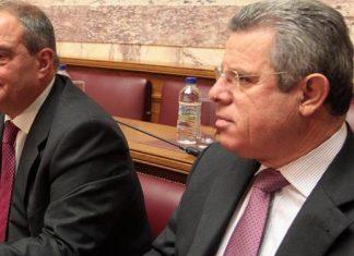 Καραμανλής, Μαρινόπουλος, λουκέτο,