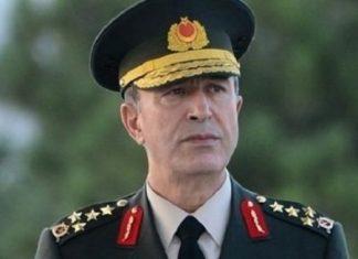 Τουρκία, απελευθερώθηκε, αρχηγός γενικού επιτελείου στρατού,