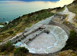 αρχαίο θέατρο, Μήλος, αποκατάσταση,
