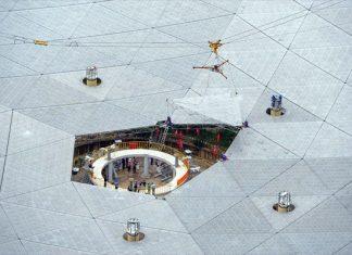 μεγαλύτερο, ραδιοτηλεσκόπιο, κόσμο,