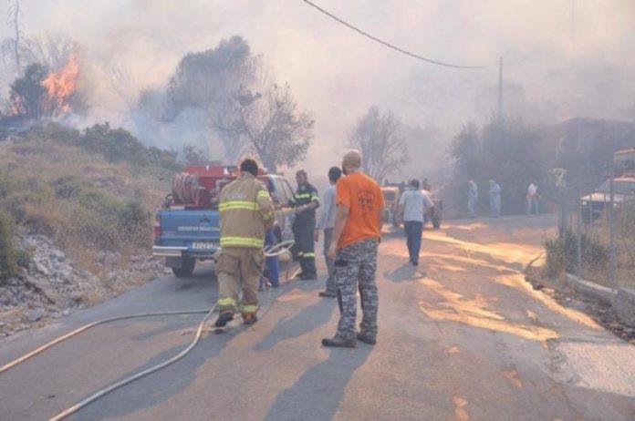 ΝΑΣΑ, φωτογραφία, φωτιά, Χίος,