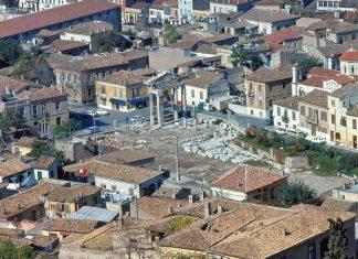 Πλάκα, ρωμαϊκή αγορά, δεκαετία '60,