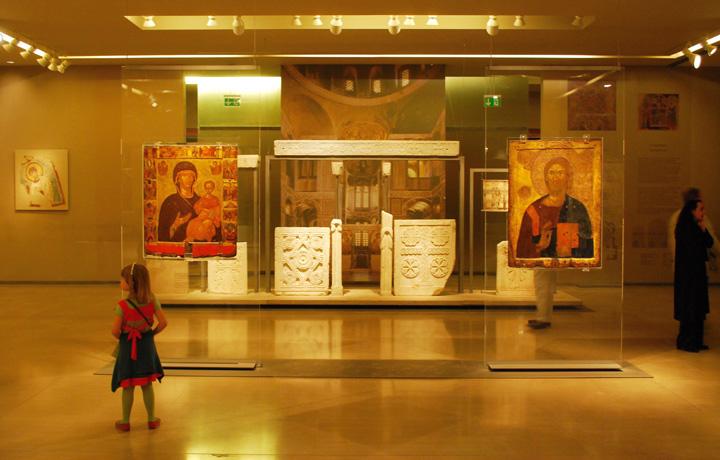 Δεκαπενταύγουστος, Βυζαντινό, χριστιανικό, μουσείο,