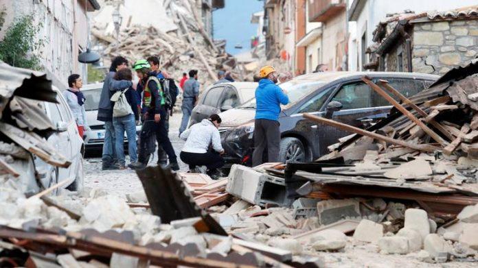 Ιταλία, σεισμός,281 νεκροί,