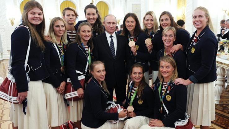 Πούτιν, δώρα, Ρώσους, Ολυμπιονίκες,