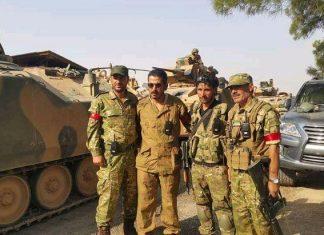 Τούρκους, κομάντο, Συρία,