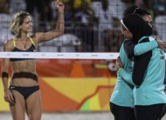 λογοκριμένες, φωτογραφίες, beach volley, Ιράν,