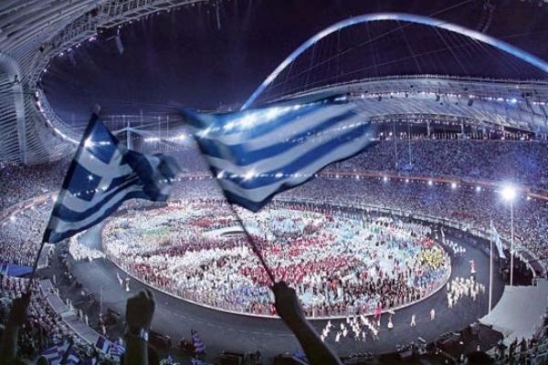 ΣΑΝ ΣΗΜΕΡΑ, τελετή έναρξης, Ολυμπιακών Αγώνων, Αθήνα,