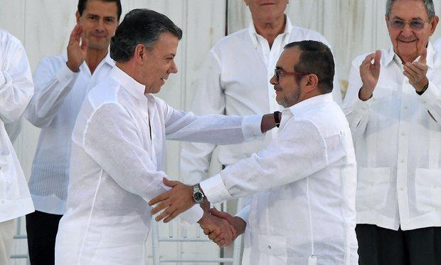 συμφωνία, ειρήνης, Κολομβία, FARC,