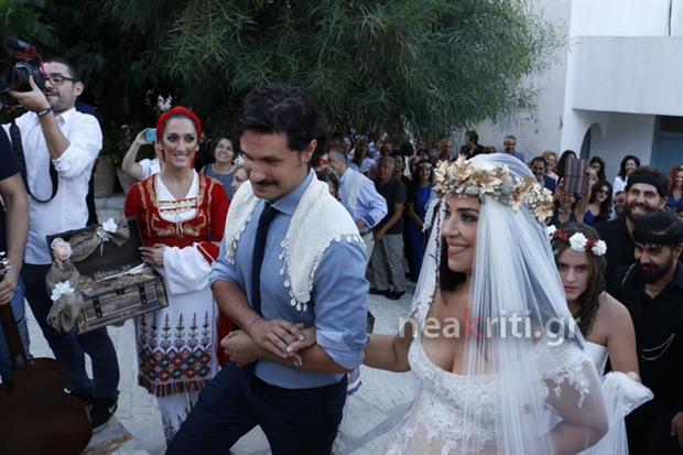 παντρεύτηκε, ελληνίδα, ηθοποιός, Τζομπανάκη,