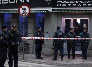 Δανία, πυροβολισμοί, δύο, τραυματίες,