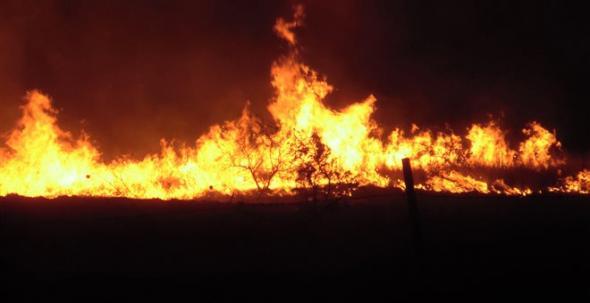 Κρήτη: Μάχη με τις φλόγες δίνουν οι πυροσβέστες