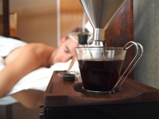 ξυπνητήρι, καφέ,