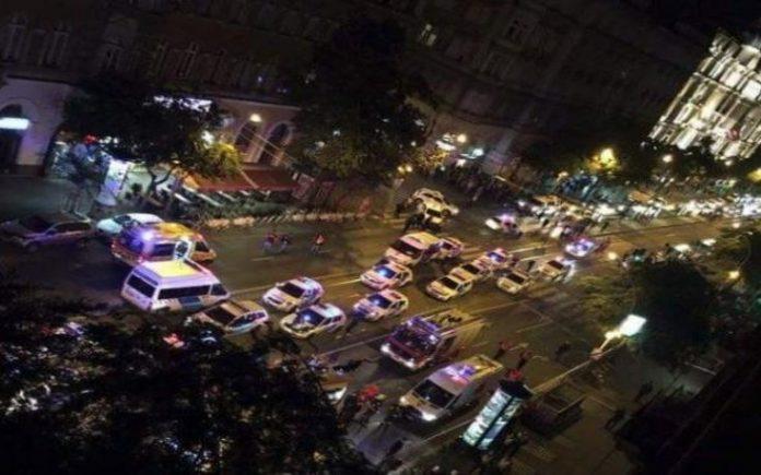 έκρηξη, Βουδαπέστη, 2 τραυματίες,