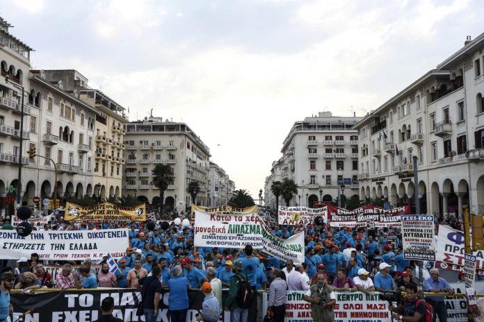 Θεσσαλονίκη, συγκεντρώσεις, πορείες,