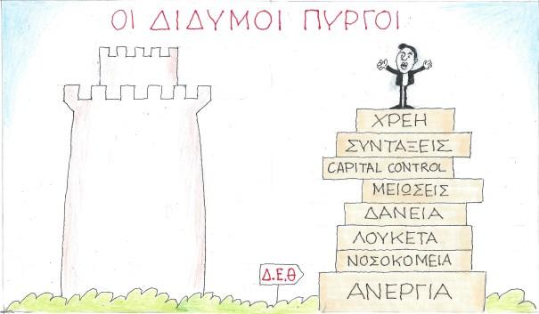 ΚΥΡ, οι δίδυμοι πύργοι της Θεσσαλονίκης